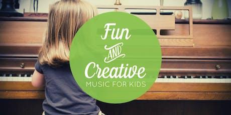 Aug. 3 Free Music Class for Kids (Centennial, CO) tickets