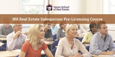 Real Estate Salesperson Pre-Licensing Course - Fall/Winter - Bedford, NH (Evening) tickets