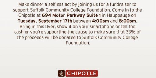 """Hunger for Knowledge"" Chiptole Hauppauge Scholarship Fundraiser"