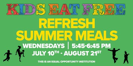 FREE Summer Meals for Kids! tickets