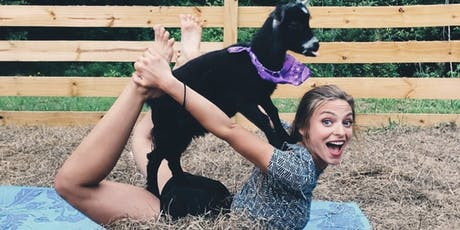 Goat Yoga Bham.-Yoga at our family farm with a herd of adorable baby goats! tickets