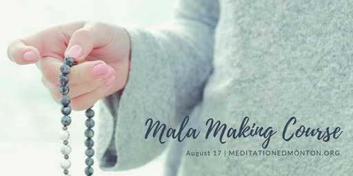 Mala Making in the Park
