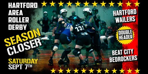 Hartford Area Roller Derby Double Header