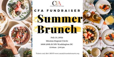 CFA Fundraiser: Summer Brunch