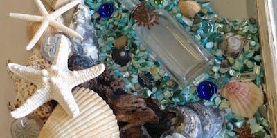 Sea Glass framed Art