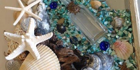 Sea Glass framed Art tickets