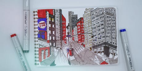 Sketching Architecture with Copic Markers tickets