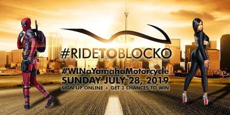 #RideToBlocko tickets