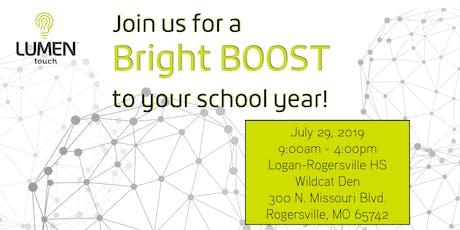 Lumen Touch Bright BOOST Development Day SW MO tickets