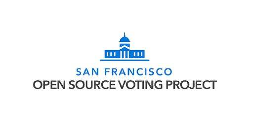 San Francisco Open Source Voting Community Meeting