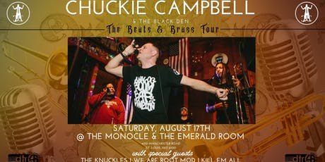 The Beats and Brass Tour at The Emerald Room: Chuckie Campbell & The Black Den tickets