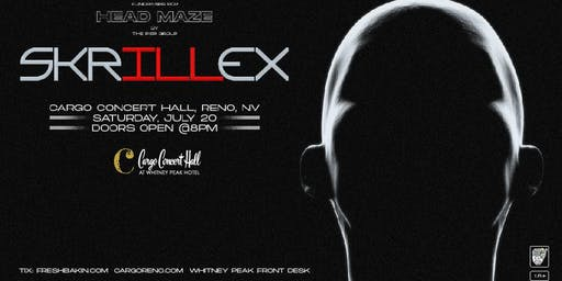 Skrillex - A Benefit for the HeadMaze Project at Cargo Concert Hall