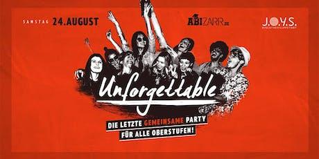 Unforgettable 16+ // 24 Aug 2019 Lippstadt Tickets