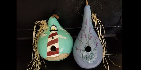 Bird House Gourd Painting 7/27 tickets