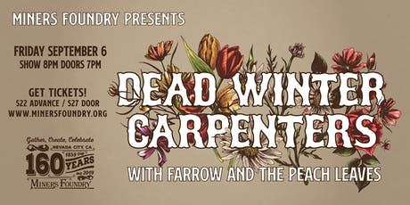 Dead Winter Carpenters tickets