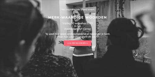 VIP MERK-Waardige Woorden 30 augustus 2019