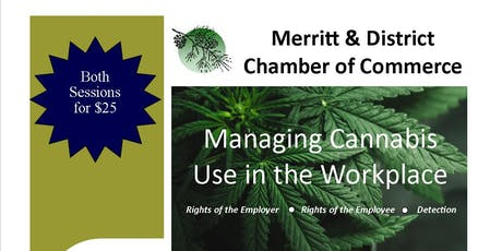 Managing Cannabis Use in the Workplace tickets