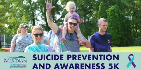 Meridian's Suicide Prevention and Awareness 5K Walk tickets