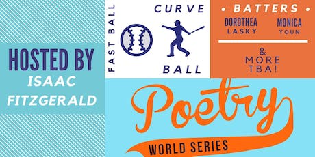 Poetry World Series 2019 tickets