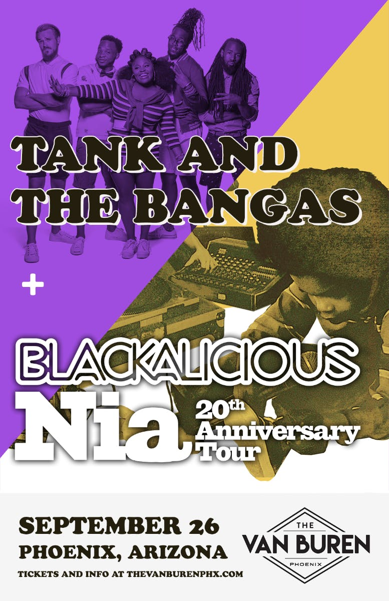 TANK AND THE BANGAS, BLACKALICIOUS