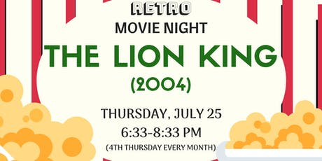 Retro Movie Night - The Lion King (1994) tickets
