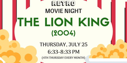 Retro Movie Night - The Lion King (1994)