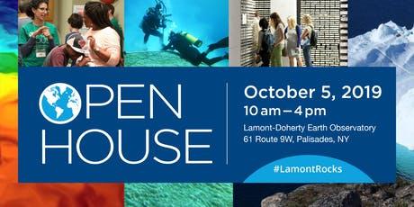Lamont-Doherty Earth Observatory Open House tickets
