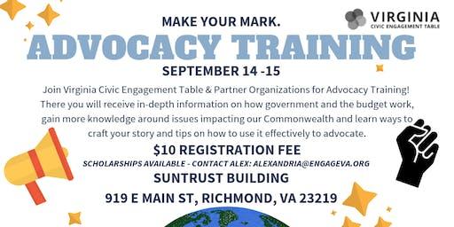 VA Advocacy Training 2019
