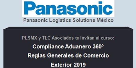 Compliance Aduanero 360º - Reglas Generales de Comercio Exterior 2019 entradas