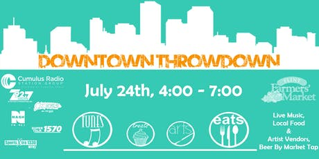 Downtown Throwdown tickets