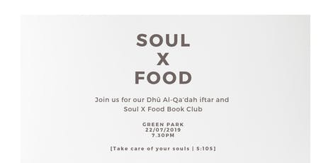 Soul X Food | II tickets