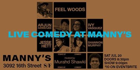 Live Comedy at Manny's tickets