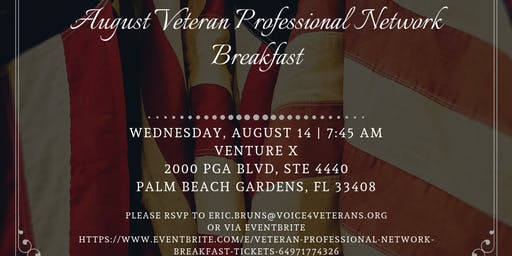 Veteran Professional Network Breakfast