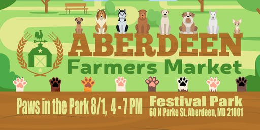 Paws in the Park: Aberdeen Farmers Market