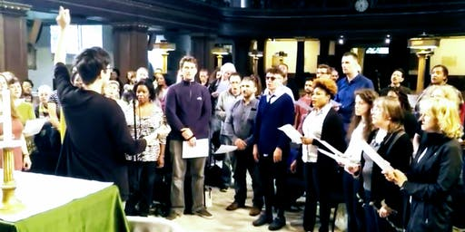 Free Gospel Singing Workshop organised by Soul Sanctuary Gospel Choir and St James's Church, Piccadilly