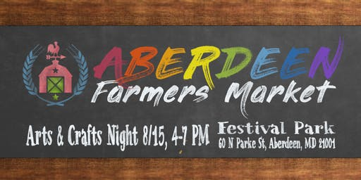 Arts & Crafts: Aberdeen Farmers Market