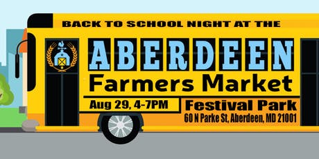 Back to School: Aberdeen Farmers Market tickets