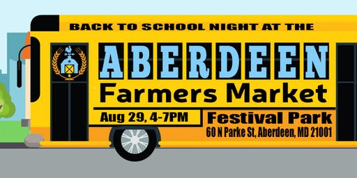 Back to School: Aberdeen Farmers Market