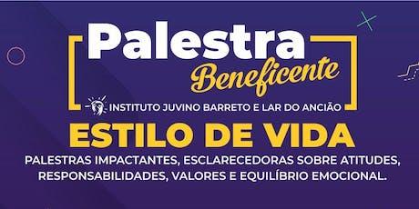 PALESTRA ESTILO DE VIDA bilhetes