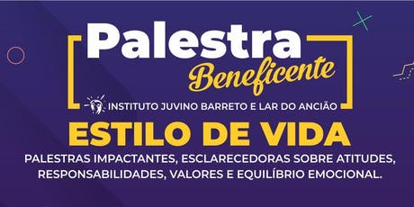 PALESTRA ESTILO DE VIDA ingressos