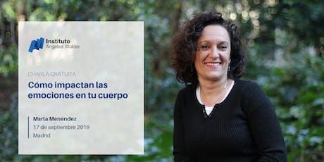 Conferencia gratuita en Madrid: Cómo impactan las emociones en tu cuerpo entradas
