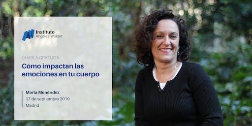 Conferencia gratuita en Madrid: Cómo impactan las emociones en tu cuerpo