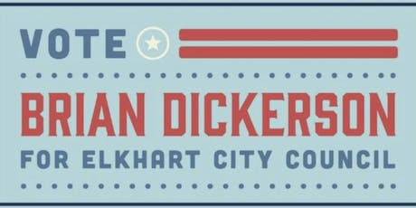 Fundraiser for Brian Dickerson for City Council-at-Large tickets
