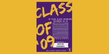 BHS Class of 2009 10-Year Reunion tickets