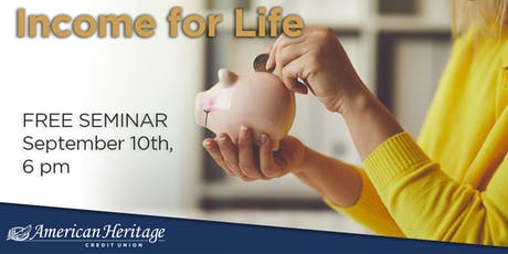 Income... for Life tickets