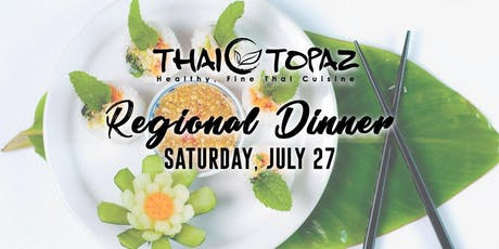 Thai Topaz presents an Exquisite Northern Regional Dinner tickets
