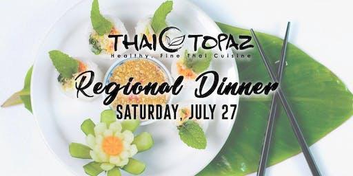 Thai Topaz presents an Exquisite Northern Regional Dinner