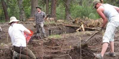 Trail Work Party, Metolius Preserve