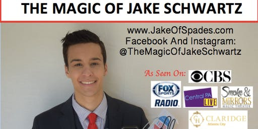 The Magic Of Jake Schwartz At The Little Gym Of Springhouse