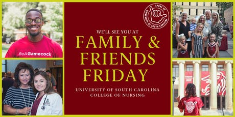 Family and Friends Friday at UofSC Nursing tickets
